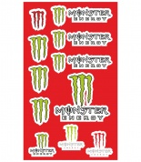 "Наклейки ""Monster energy"""