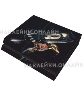 "Наклейка на PS4 ""Assassins creed syndicate hidden blade"""